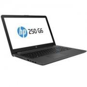Лаптоп HP 250 G6, Core i3-7020U with Intel HD 620(2.3Ghz/3MB), 15.6 FHD AG + Camera,8GB 2133Mhz 1DIMM,1TB HDD,DVDRW,7265 а/c+BT,AMD Radeon 520,4LT72ES