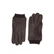Gant Rukavice Gant D2. Leather Gloves hnědá M