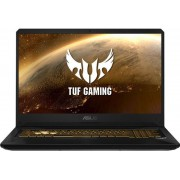 "Laptop Gaming Asus TUF FX705GM-EV070 (Procesor Intel® Core™ i7-8750H (9M Cache, up to 4.10 GHz), Coffee Lake, 17.3"" FHD, 8GB, 1TB HDD @5400RPM + 128GB SSD, nVidia GeForce GTX 1060 @6GB, Negru) + Bonus Fortnite Frenzy Bundle"