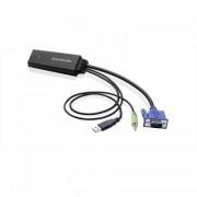 Adaptor Avermedia 61ET1100A0AB AverMedia VGA male - HDMI female Negru