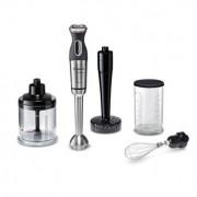 Bosch Mixeur plongeant métal pied inox MaxoMixx 750 W et 4 accessoires MSM87165 Bosch