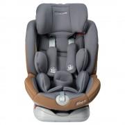 Scaun auto Allegra rotativ cu isofix 0-36 kg gri KidsCare