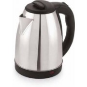 Kushahu Star Kettles Electric 1.8 Litre for Tea/Coffee (Silver with Black) Electric Kettle(1.8 L, Multicolor)