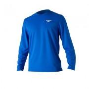 LS-Shirt blå vuxen Ilias - Speedo (Storlek: XXL)