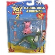Disney Toy Story 2 Barbie Doll & Friends Figure Set By Mattel 2 Inch High Action Figures