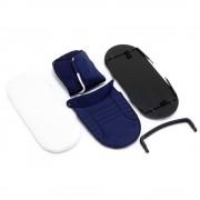iCandy Peach 2nd Carrycot Fabric + Bumper Bar Indigo