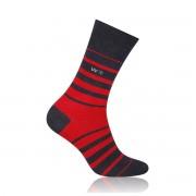 Férfi zokni Willsoor 6965 -ban fekete szín