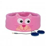 Rozkošná detská čelenka so slúchadlami - Mačiatko