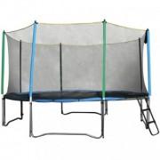 Set trambulina inSPORTline Top Jump 244cm