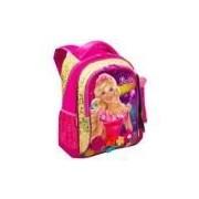 Mochila G Barbie E O Portal Secreto Dourado