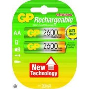 GP 201061 - GP NiMH Rechargeable Battery R6/AA 1,2V/2600mAh 2-pack