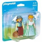 Комплект Плеймобил 6843 - Принцеса и помощник, Playmobil, 2900121