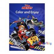Disney Mickey and the Roadster Racers színező - Kiddo Books
