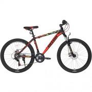 """Bicicleta ULTRA Agressor RF 26"""" negru/rosu 48 cm"""