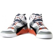 Puma Ftr Trinomic Slipstream Lite Sneakers For Men(White, Orange, Grey, Blue)