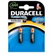 Baterii AAAK2, alcaline, 2 bucati, DURACELL Turbo Max Duralock