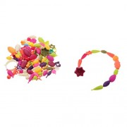 Street27 128 pcs DIY Kid Pop Beads Toy Snap Together Threading Bead Jewellry Gifts