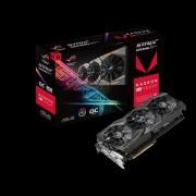 VC, ASUS ROG-STRIX-RXVEGA56-O8G-GAMING, 8GB HBM2, 2048bit, PCI-E 3.0 (90YV0B50-M0NA00)