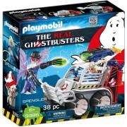 Playmobil Cazafantasmas- Spengler Con Coche Playmobil