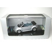 AUTOart 1/43 VW. New Beetle Cabriolet (Silver) (597585) Finished Goods