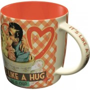 ART Mugg Retro 'It's Like A Hug In A Cup'