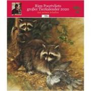 PAUL PAREY Rien Poortvliets großer Tierkalender 2020
