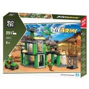 Joc constructie, My Army, Baza militara, 251 piese Blocki