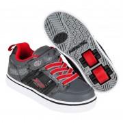 Heelys X2 Bolt Black/Grey/Red