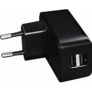 Incarcator Universal Hama USB 2.1A Negru