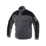 ORION OTAKAR Bélelt (polár anyaggal) Kabát szürke/fekete