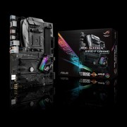 ASUS ROG STRIX B350-F GAMING AMD AM4 B350 ATX gaming motherboard with Aura Sync RGB LED, DDR4 3200MHz, M.
