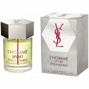 Perfume L' Homme Sport De Yves Saint Laurent 100 Ml Edt Spray Caballero