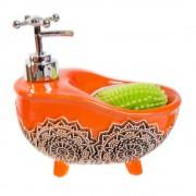 Dispenser cada portocalie din ceramica cu burete