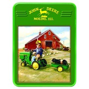 Master Pieces Puzzle Company John Deere Tractor Ride Collectible Jigsaw Puzzle Tin (1000 Piece)