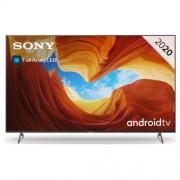 "Телевизор Sony BRAVIA KD-65XH9096 65"", 4K HDR TV, Full Array LED, 4K HDR Processor X1, Dolby Atmos,DVB-C / DVB-T/T2 / DVB-S/S2, USB, Android TV, Гласов контрол, Черен"
