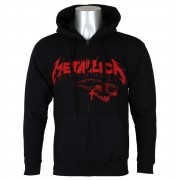 sweat-shirt avec capuche pour hommes Metallica - One Cover - NNM - RTMTLZHBLAND