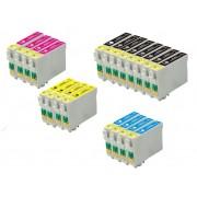 Epson Kompatibel Till Epson T0791/t0792/t0793/t0794 Bläckpatroner Rabattpaket 20 St Kompatibel 364 Ml