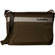 Calvin Klein Flatiron 3.0 Messenger Bag Brown