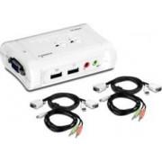 TrendNet Commutateur KVM USB 2 PC + audio Trendnet ''TK-209K''