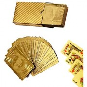 cm treder 24 K Gold Plated Playing Cards