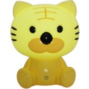 Zahab Cute Yellow Tiger Cartoon Led Desk Lamp/Table Lamp/Night Light for Kids