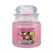Yankee Candle Fresh Cut Roses 411 g vonná sviečka unisex