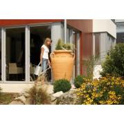 Rezervor pentru apa de ploaie tip Antique Amphora,culoare Terracotta 360lt.
