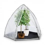 Waldbeck Greenshelter M, оранжерия палатка 240X200CM стоманена тръба Ø25MM PVC (GQR2-Greenshelter-M)
