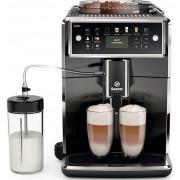 Espressor automat Saeco Xelsis SM7580/00, Sistem Latteduo, 12 selectii, 5 setari intensitate, Rasnita reglabila cu 12 trepte, AquaClean, Afisaj LCD (Negru)