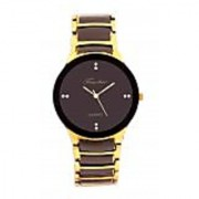 Timebre Glamorous Men Party Black Gold Watches