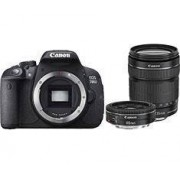 Canon EOS 700D + 18-135mm iS STM + 40mm F/2.8 STM