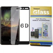 Vinimox 6d tempered glass for Nokia 5.1 plus (black)