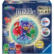 Puzzle 3D Eroi In Pijamale M2 Ravensburger