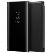 Cool Funda Flip Cover Clear View Negra para Samsung Galaxy Note 10 Plus